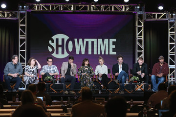 Peter Cambor Imogene Poots 2016 Winter TCA Tour - Day 8