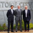 Peter Coates Mark Hughes Press Conference and Photo Call