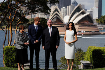 Peter Cosgrove The Duke And Duchess Of Sussex Visit Australia - Day 1