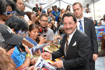 Peter Cullen 'Transformers: Age of Extinction' Premieres in NYC