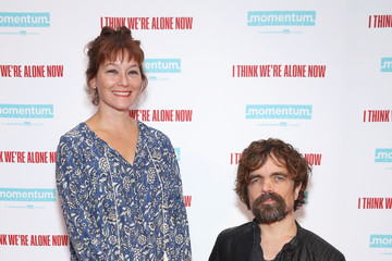 Peter Dinklage Erica Schmidt XX At The New York Special Screening Of 'I Think We're Alone Now'