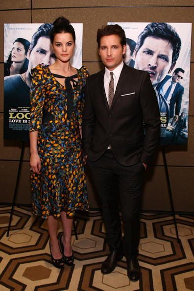 Peter facinelli and jaimie alexander loosies new york premiere