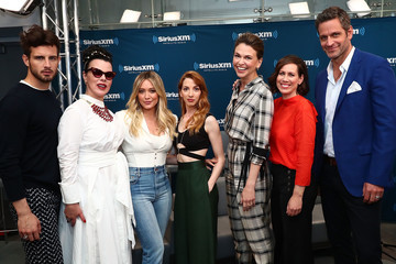 Peter Hermann The Cast of 'Younger' Visits the SiriusXM Studios
