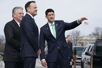 Peter King Trump And Pence Host Irish Taoiseach For Annual Friends Of Ireland Luncheon