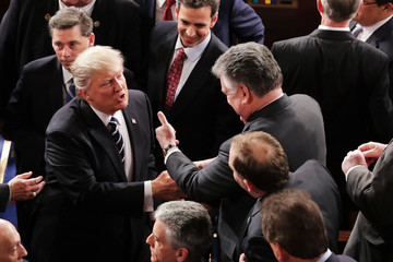 Peter King Donald Trump Delivers Address to Joint Session of Congress
