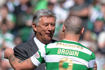 Peter Lawwell Celtic v Aberdeen - Scottish Premier League