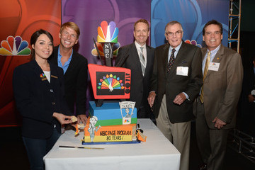 Peter Marshall NBC's Page Program Anniversary Celebration