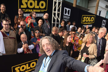 Peter Mayhew Premiere Of Disney Pictures And Lucasfilm's 'Solo: A Star Wars Story' - Red Carpet