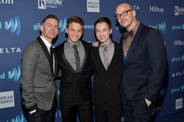 Peter Paige Red Carpet - 26th Annual GLAAD Media Awards