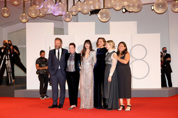 """Peter Sarsgaard """"The Lost Daughter"""" Red Carpet - The 78th Venice International Film Festival"""