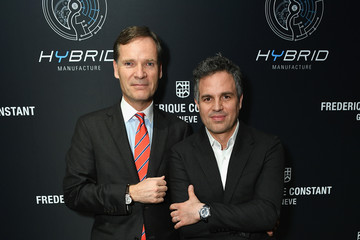 Peter Stas Frederique Constant Hybrid 3.0 Watch Launch with Mark Ruffalo