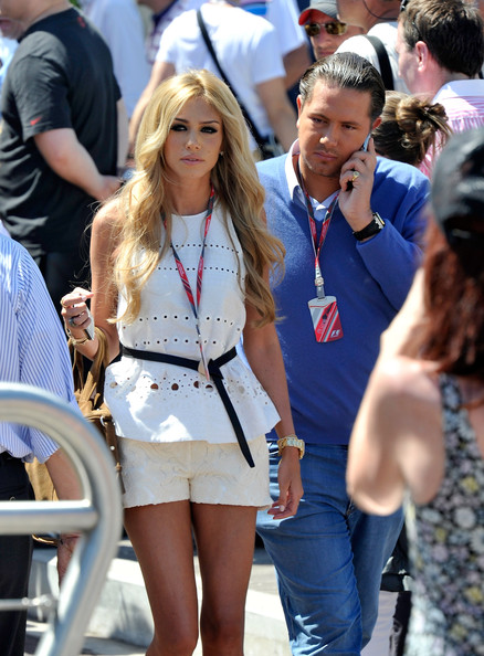 Petra Ecclestone and James Stunt - Celebrity Sightings at the F1 Grand ...