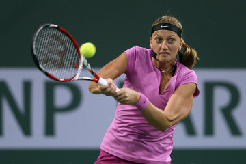Petra Kvitova BNP Paribas Open: Day 8