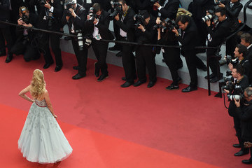 Petra Nemcova 'Burning (Beoning)' Red Carpet Arrivals - The 71st Annual Cannes Film Festival