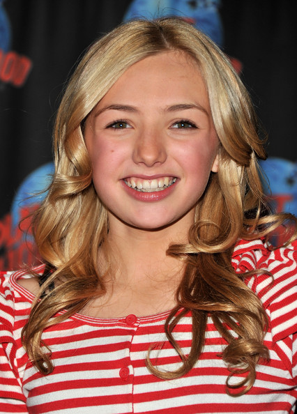 Actress Peyton List visits Planet Hollywood Times Square on January 13, 2012 in New York City.