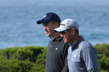 Peyton Manning Greg Owen AT&T Pebble Beach National Pro-Am: Round 1