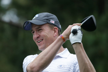Peyton Manning AT&T Pebble Beach Pro-Am - Round Two