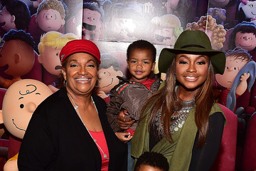 Phaedra Parks 20th Century Fox's 'The Peanuts Movie' VIP & Red Carpet Screening with the Ludacris Foundation