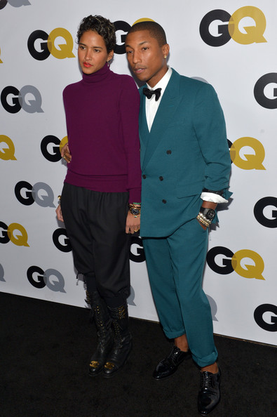 Pharrell Williams - GQ Men Of The Year Party - Carpet
