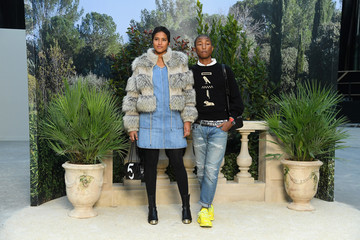Pharrell Williams Chanel: Front Row - Paris Fashion Week - Haute Couture Spring Summer 2019