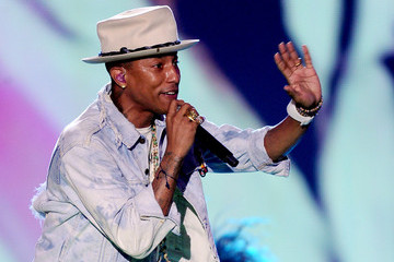 Pharrell Williams Nickelodeon Kids' Choice Sports Awards Show