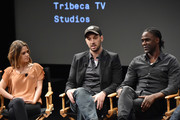 """Jeff Zimbalist and Mario Melchiot attend the screening of """"Phenoms: Goalkeepers"""" during the 2018 Tribeca Film Festival at SVA Theatre on April 25, 2018 in New York City."""