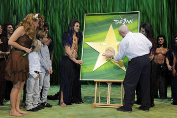 Nicholas Collins Phil Collins Attends Tarzan Musical 3rd Anniversary