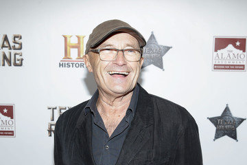 Phil Collins HISTORY Celebrates Epic New Miniseries 'Texas Rising' With Red Carpet at the Alamo