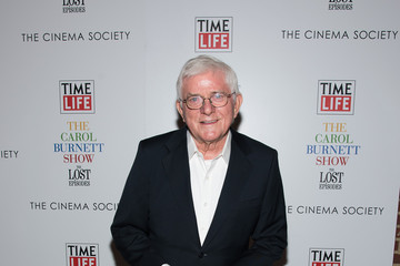 Phil Donahue Time Life and the Cinema Society Host a Screening of 'The Carol Burnett Show: The Lost Episodes' - Arrivals