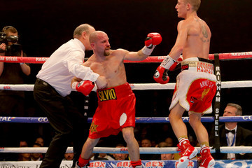 Phil Edwards Boxing at Manchester Arena