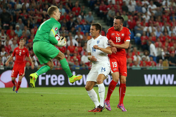 Phil Jagielka Switzerland v England - UEFA EURO 2016 Qualifier