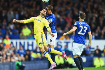 Phil Jagielka Everton v Chelsea - Premier League
