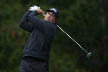 Phil Mickelson AT&T Pebble Beach Pro-Am - Round Two