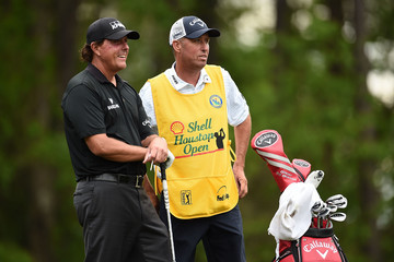 Phil Mickelson Jim MacKay Shell Houston Open - Round Two