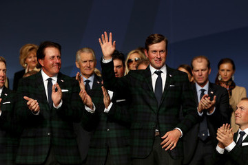 Phil Mickelson Jordan Spieth 40th Ryder Cup Opening Ceremony