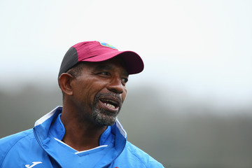Phil Simmons West Indies Training Session