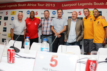 Phil Thompson Liverpool FC Legends Tour Arrives in Durban