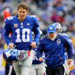 Eli Manning and Tom Coughlin Photos