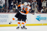 Claude Giroux and Danny Briere Photos Photo