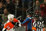 Ian Laperriere and Cody McLeod Photos Photo
