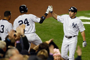 Johnny Damon and Robinson Cano Photos Photo