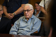 Anthony Marshall, son of Brooke Astor, attends his sentencing at Manhattan Criminal Courts on June 21, 2013 in New York City. Marshall, 89, was found guilty of stealing millions from his mother's estate, and has been sentenced to serve one year of his three year term.