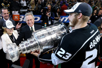 Philip Anschutz 2014 NHL Stanley Cup Final - Game Five