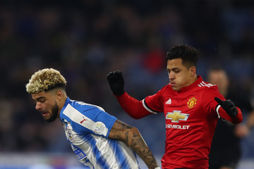 Philip Billing Huddersfield Town v Manchester United - The Emirates FA Cup Fifth Round