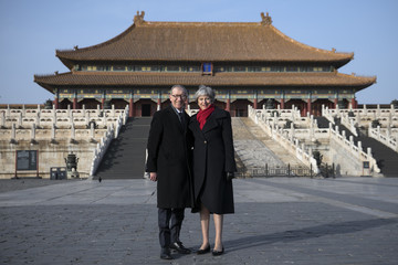 Philip May British Prime Minister China Visit - Day Two