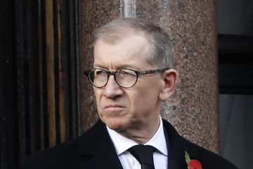 Philip May The Royal Family Lay Wreaths at the Cenotaph on Remembrance Sunday