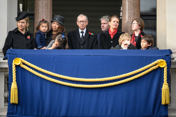 Philip May Wreaths Are Laid At The Cenotaph On Remembrance Sunday