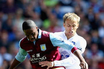 Philip Neville Aston Villa v Everton - Premier League
