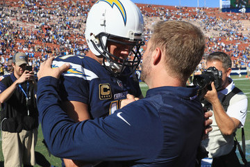 Philip Rivers Los Angeles Chargers vs. Los Angeles Rams