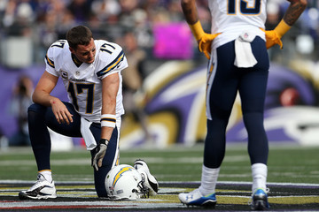 Philip Rivers San Diego Chargers v Baltimore Ravens